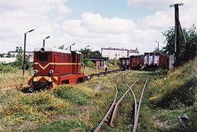 Stacja Gniezno Wąskotorowe