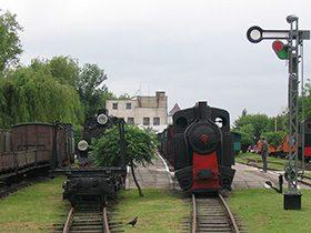 Muzeum Kolei Wąskotorowej w Sochaczewie – ekspozycja.