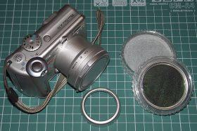 """Gotowy aparat wraz z popularnym w swoich czasach tzw """"zestem zaawansowanym""""."""