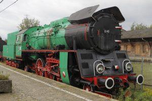 Parowóz Ol49-21.