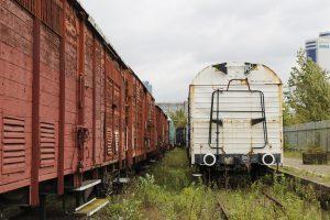 Wagony towarowe.