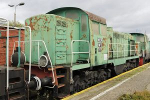 Lokomotywa spalinowa SM15-017.