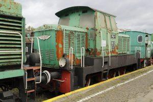 Lokomotywa spalinowa SM25-002.