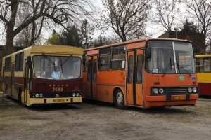Jelcz M11 #BV05 i Ikarus 280 #RV51.