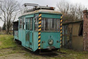 Pochodząca z Tramwajów Podmiejskich platforma N #103.