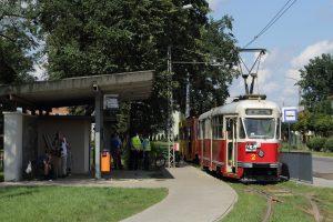 803N #2 i #37 na krańcówce Plac Wolności w Konstantynowie Łódzkim.