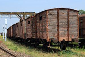 Wagony kryte produkcji pruskiej.